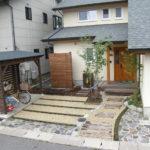 家の入口の写真